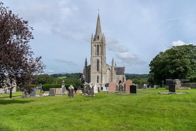 Shillelagh kościół i cmentarz, hrabstwo wicklow.