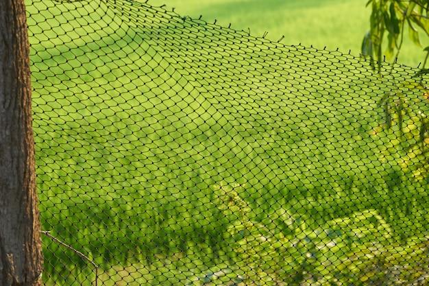 Siatka wykonana z nylonu w stadzie hodowlanym przynosi korzyści