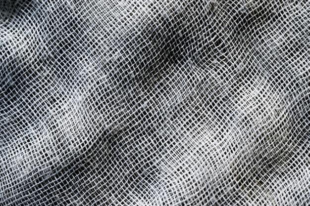 Siatki włókna lub tkaniny bruzdy tekstura tło