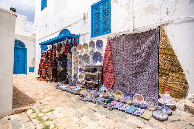 Sidi bou said, tunezja