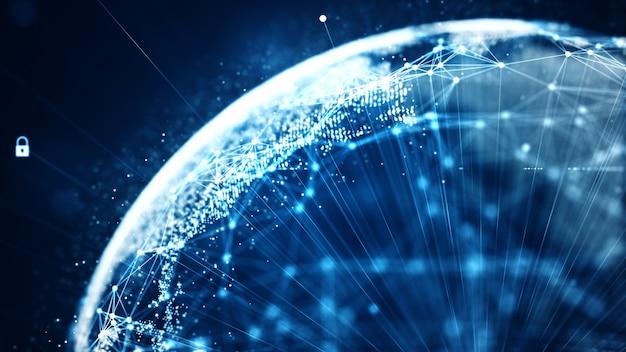 Sieć danych binarnych danych technologicznych przenoszących łączność