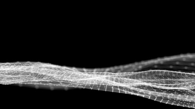 Sieć fale sieciowe podłączone