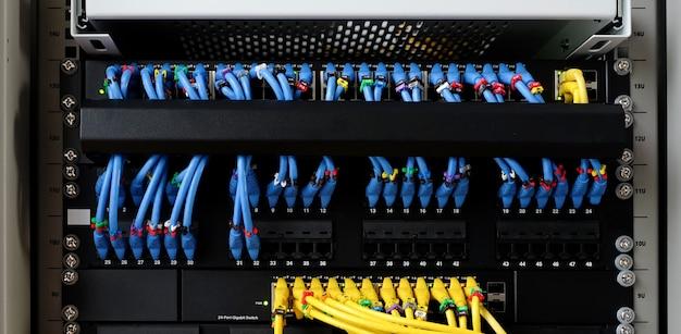 Sieć kablowa dla internetu