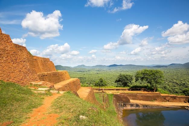 Sigiriya sri lanka królestwo stary klasztor buddyjski