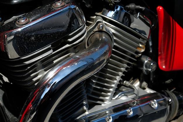 Silnik i silnik motocykla.