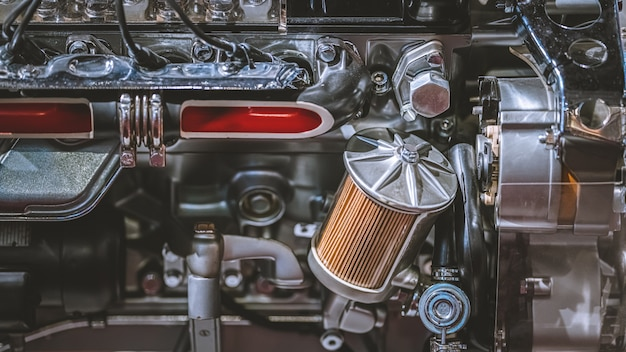 Silnik samochodowy i części