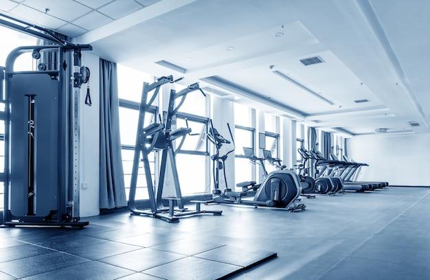 Siłownia z rowerami na zajęcia fitness