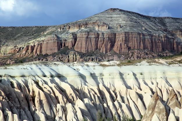 Skały wulkaniczne w kapadocji, turcja