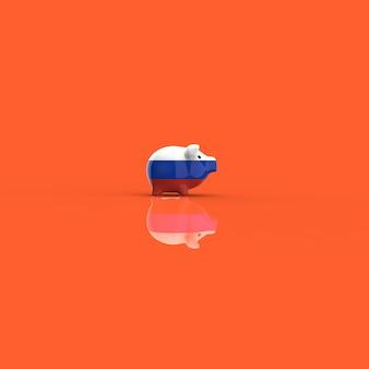 Skarbonka - 3d ilustracji