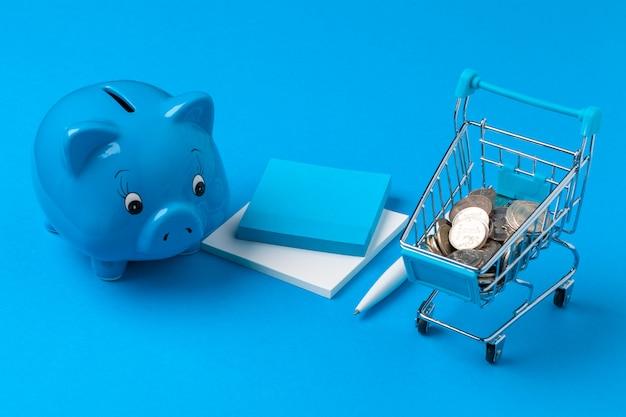 Skarbonka oszczędzać monety