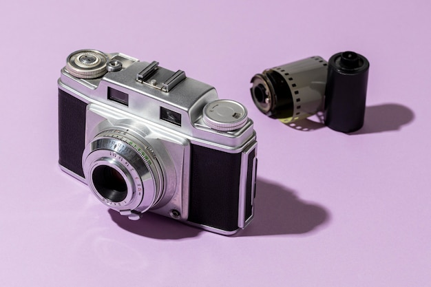 Skład aparatów fotograficznych vintage