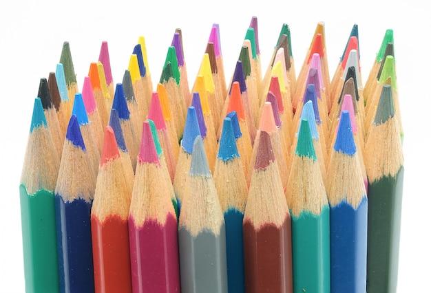 Skład kolorowe ołówki