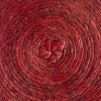 Skład kosza słomianego na płasko
