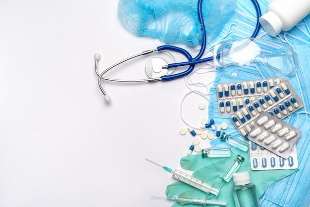 Skład ochrony przed koronawirusem