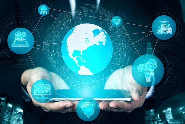 Skład technologii komunikacyjnej 5g