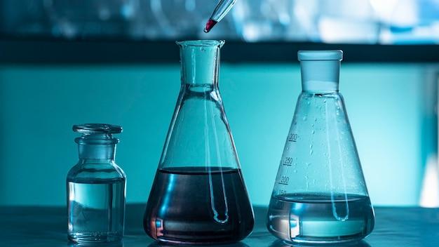 Skład wyrobów szklanych laboratoryjnych