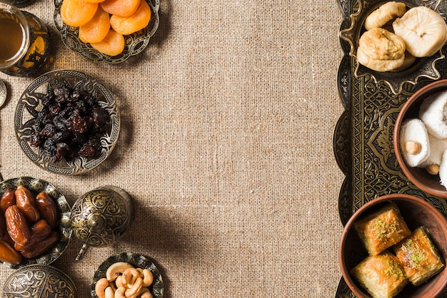 Skład żywności dla ramadanu