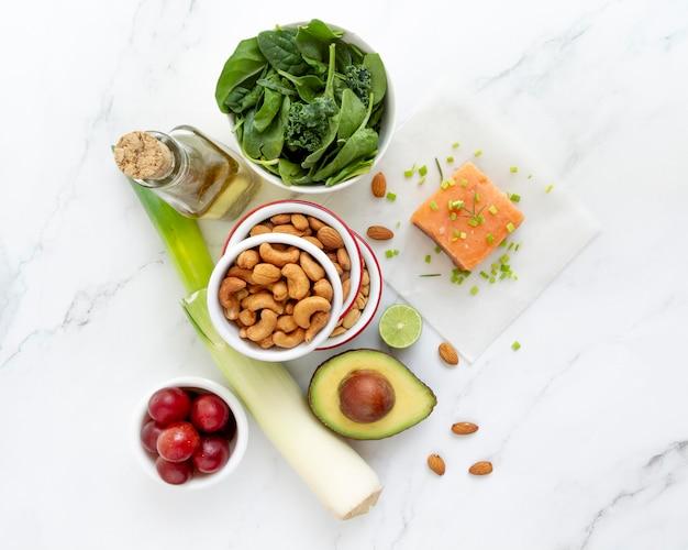 Skład żywności w diecie flexitarian