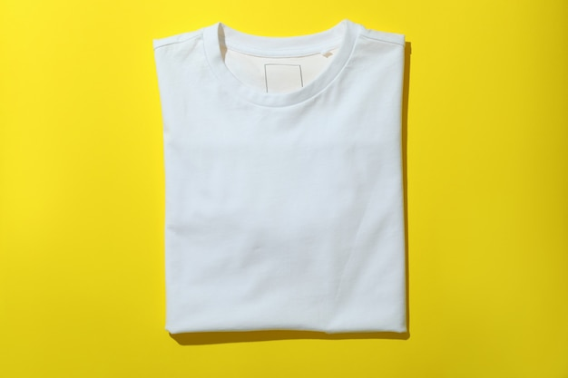 Składana bluza w kolorze żółtym