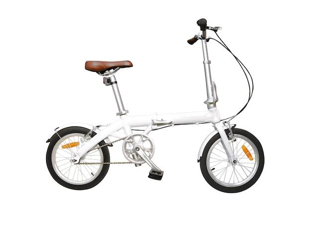Składany rower na miejskie drogi