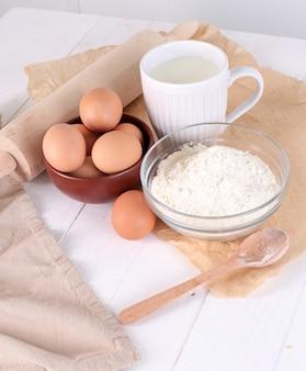 Składniki do pieczenia ciasteczek