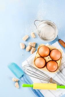 Składniki i przybory do pieczenia