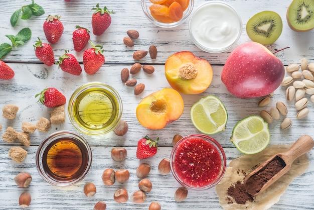 Składniki na zdrowy deser