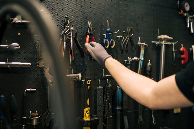 Sklep naprawczy rowerów