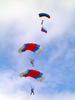 Skoczków spadochronowych