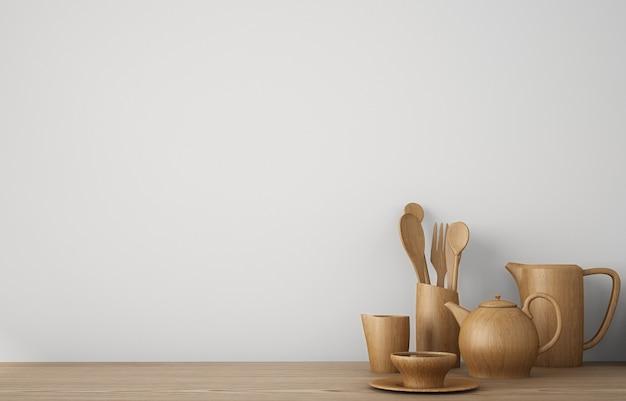 Skopiuj miejsce na naczynia kuchenne