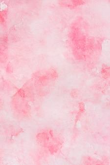 Skopiuj miejsce różowe tło akwarela