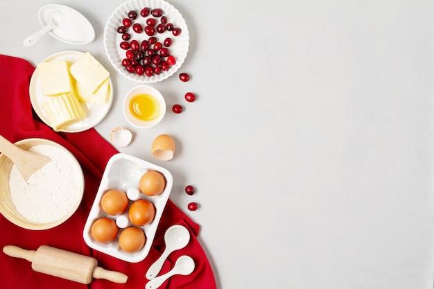 Skopiuj miejsce ze składników do pieczenia
