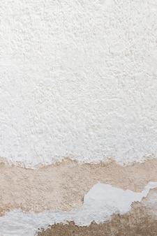 Skopiuj przestrzeń biały betonowy mur