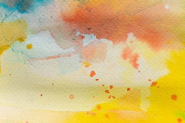 Skopiuj przestrzeń pastelowe tło akwarela