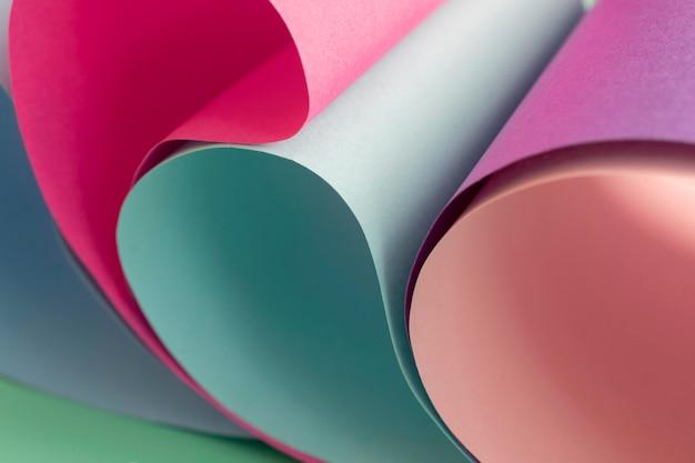 Skopiuj warstwy papieru w rolce w kolorze