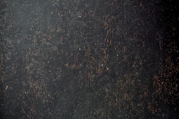 Skorodowana tekstura czarnego metalu