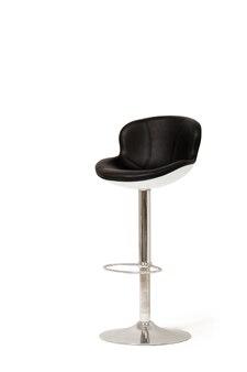 Skórzany stołek barowy