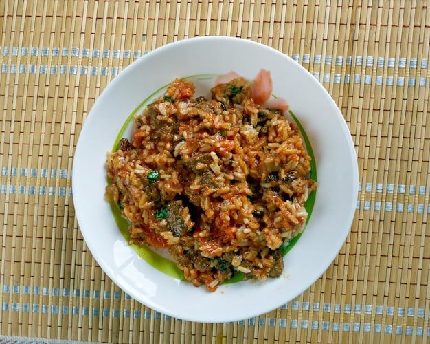Skoudehkaris - przepis na ryż z dżibuti, kuchnia afrykańska