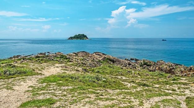 Skrajny punkt wyspy samet w tajlandii