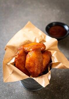 Skrzydełka z kurczaka z grilla