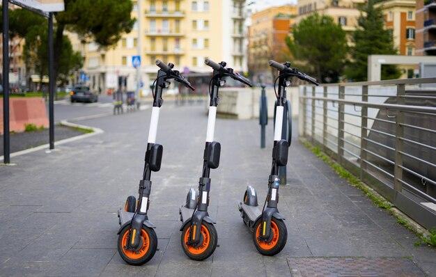 Skutery elektryczne to nowy transport miejski