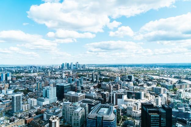 Skyline z london city