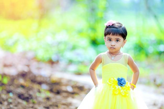 Śliczna indyjska dziewczyna