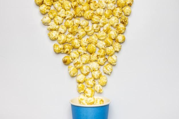 Słodka koncepcja popcornu