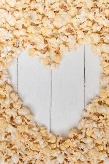 Słodki i smaczny popcorn