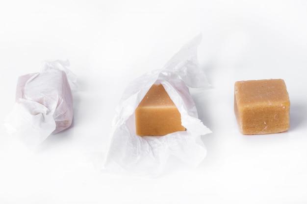 Słodki karmelowy cukierek