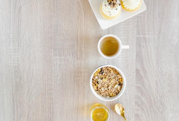 Słodki zestaw śniadaniowy