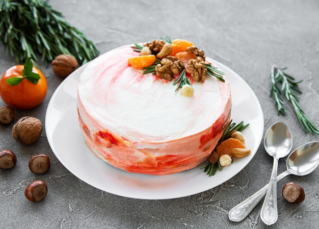 Słodkie ciasto marchewkowe