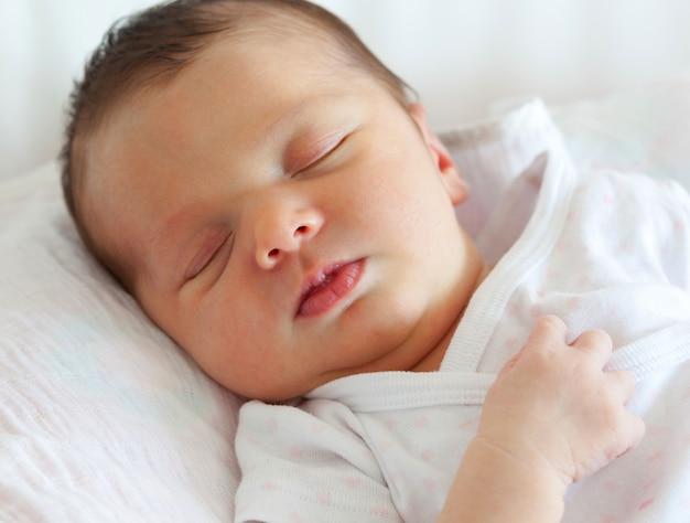 Słodkie dziecko śpi