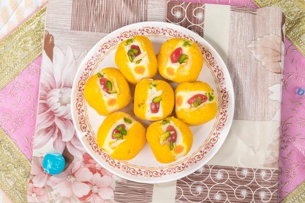 Słodkie jedzenie bengalskie